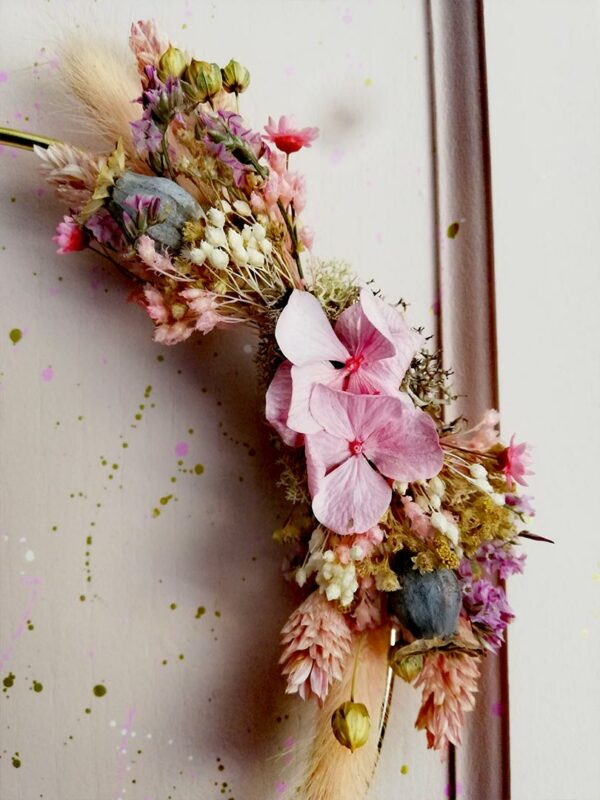 Freya Couronne de fleurs
